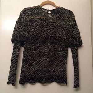 Zara Tops - Zara lace top
